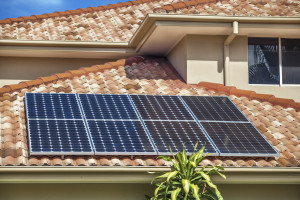Solar Energy Panels On Home