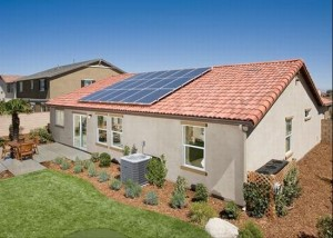 residential solar home panels